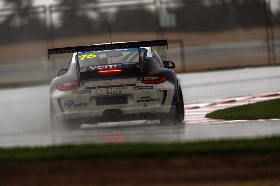 Christian Pancione 2018 Porsche GT3 Cup